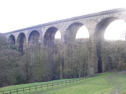 Marple Viaduct, Goyt Valley